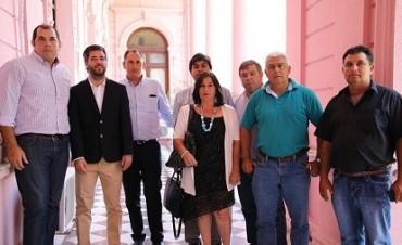 REUNIÓN EN EL CASA DE GOBIERNO